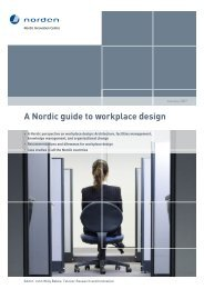 A Nordic guide to workplace design (DEKAR) - Alexandra Instituttet