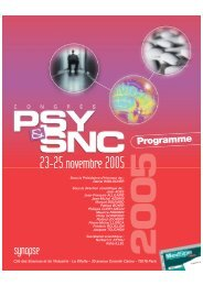 Prog déf SNC 2005