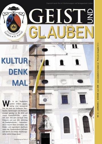 GEIST und GLAUBEN, Juni 2008