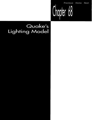 quake's lighting model