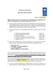 Page 1 de 36 Invitation à soumissionner Réf ... - mediacongo.net
