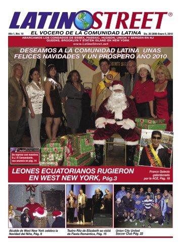 LEONES ECUATORIANOS RUGIERON EN WEST ... - LatinoStreet.Net