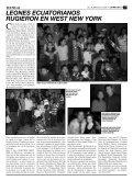 LEONES ECUATORIANOS RUGIERON EN WEST ... - LatinoStreet.Net - Page 3