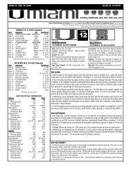 12 -NC State game notes-ROB.qxp - University of Miami Athletics