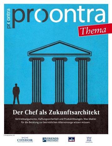 Der Chef als Zukunftsarchitekt - Procontra