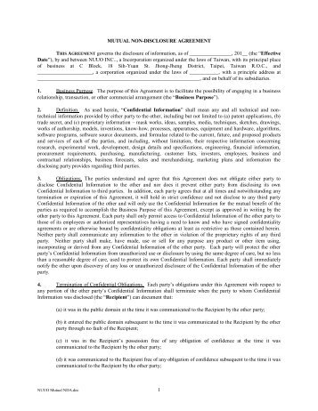 Sensitive Compartmented Information Nondisclosure Agreement Nasa