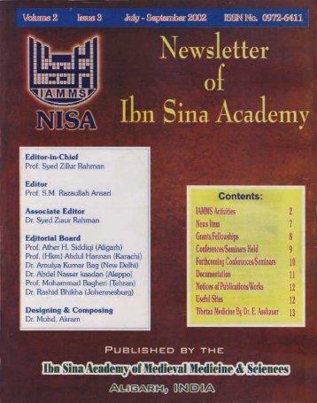 NISA 2002; 2(3)