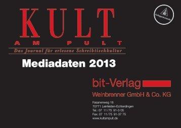 Mediadaten 2013