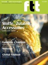 Stoffe, Zutaten, Accessoires - IMOE - Informationsagentur Mittel- und ...