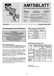 Wittislingen KW 31