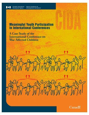 Meaningful Youth Participation in International Conferences