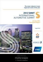 2012 SMMT International Automotive Summit - June 12...Post Event ...