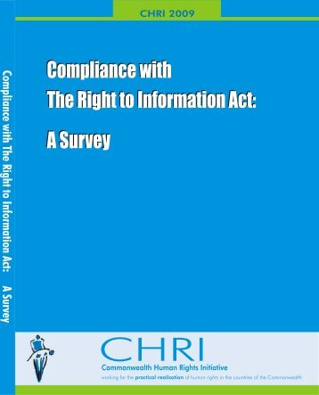 Compliance with The Right to Information Act: A Survey