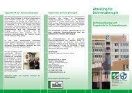 Abteilung für Schmerztherapie - Westpfalz-Klinikum GmbH