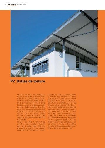 P2 Dalles de toiture - Xella