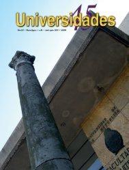 Revista Universidades Número 45, Abril - Junio de 2010 - udual