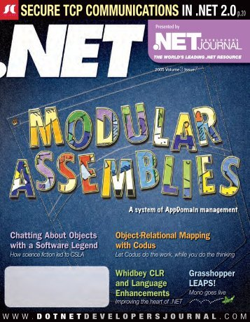DNDJ 3-7 July.indd - sys-con.com's archive of magazines - SYS ...