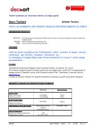 Deco-Texture_Scheda Tecnica_Marzo 2011 ITA - UtilGraph.it