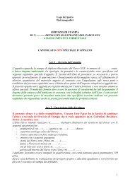 Capitolato Tipografia - Regione Lazio