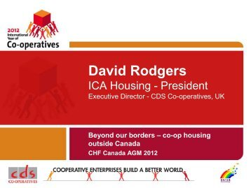 Mr David Rodgers - ICA Housing