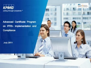 Advanced Certificate Program on IFRS ... - NIITImperia.com
