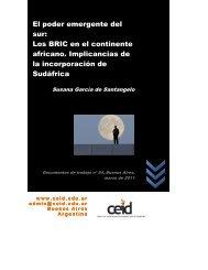 Los BRIC en el continente africano. Implicaciones de la ...