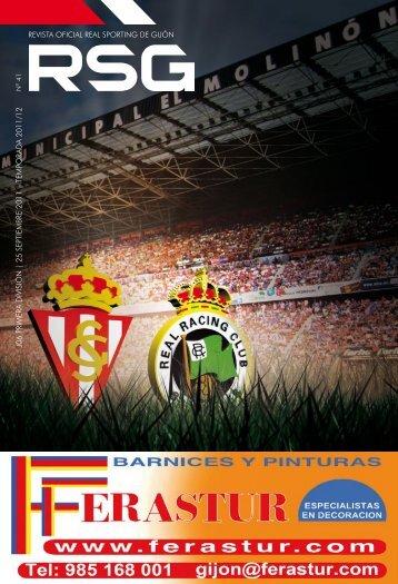 revista oficial real sporting de gijón j06 primera división