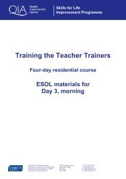 ESOL Materials AM Day 3 - Skills for Life Improvement Programme