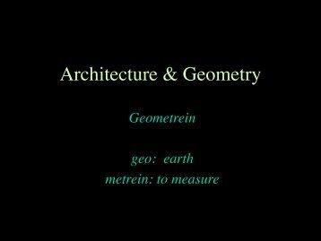 Architecture & Structure