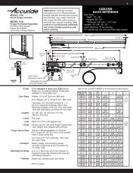 1332/1432 QUICK REFERENCE - Woodcraft