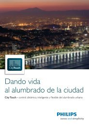 Diptico City Touch - Philips Lighting