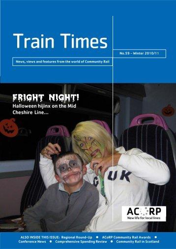 fright night! - Association of Community Rail Partnerships - UK.COM