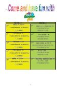 Welcome to the Summer Edition of Dates For Diary ... - Early Years - Page 4