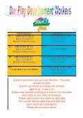 Welcome to the Summer Edition of Dates For Diary ... - Early Years - Page 5