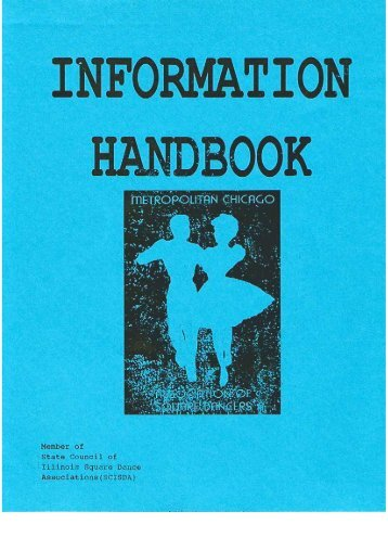 Entire Handbook - 12/2012 - Chicagoland Square Dance