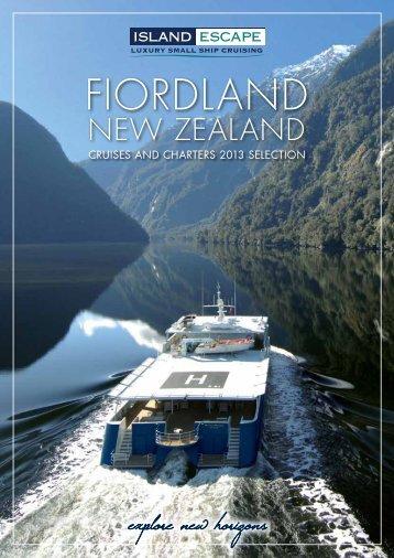 Fiordland - Cruising.com.au