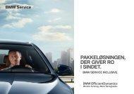 PAKKELØSNINGEN, DER GIVER RO I SINDET. - BMW Danmark