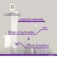 agences urbaines - Ministère de l'Habitat, de l'urbanisme et de la ...