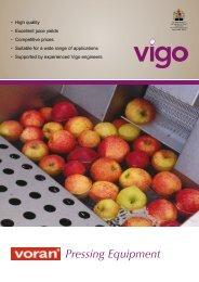 Pressing Equipment Brochure - Vigo Ltd