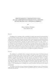 Abastecimiento y producción local... - Universidad Complutense de ...