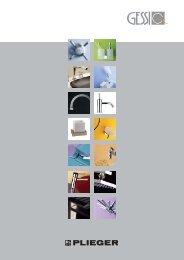 brochure Gessi:brochure Gessi.qxd.qxd - Butterfly Trading