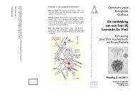Uitnodiging lezing de fout van Da Vinci - Koninklijke Vlaamse ...