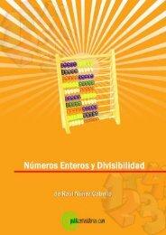 Números enteros y divisibilidad - Publicatuslibros.com