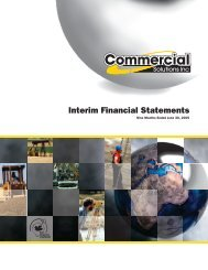 PDF Download - Commercial Solutions Inc
