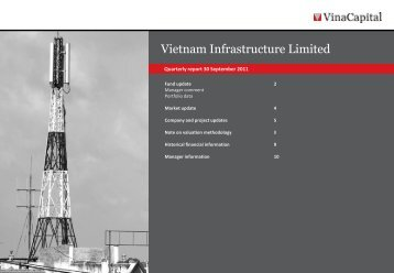 VNI Q3 2011 report - VinaCapital