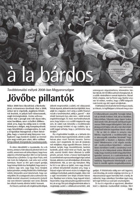 húsvéti szám - Bárdos László Gimnázium