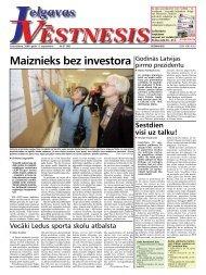 2008. gada 11.septembris. Nr.37(69) - Jelgavas Vēstnesis