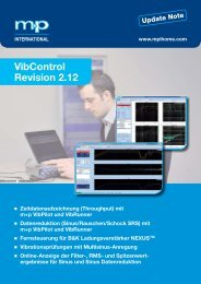 VibControl Revision 2.12 - M+P International