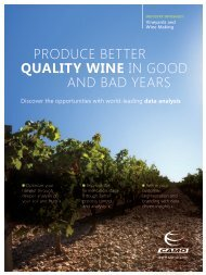 produce better quality wine in good and bad years - Workcast