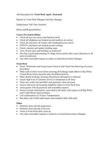 bar doorman responsibilities software engineer advice hotel